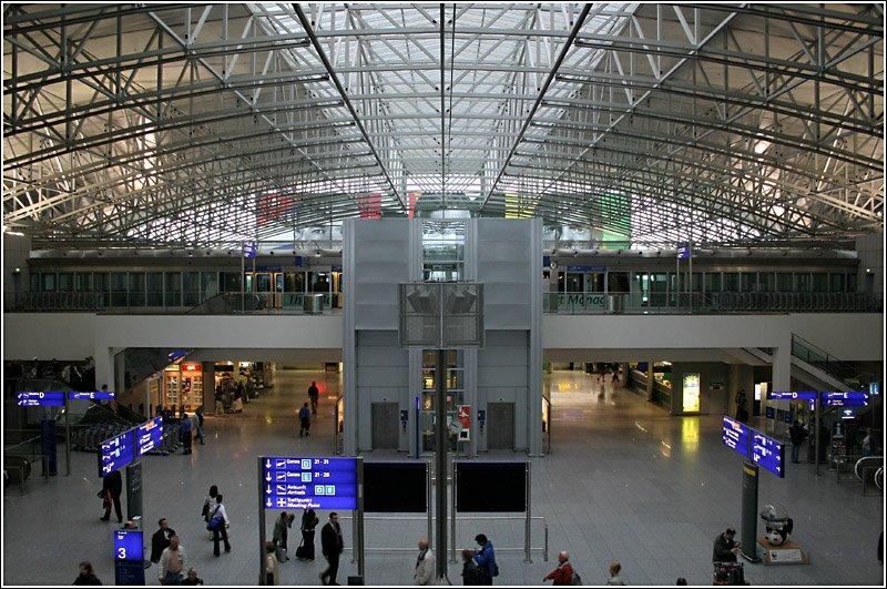 Abflug Frankfurt Flughafen Terminal 2