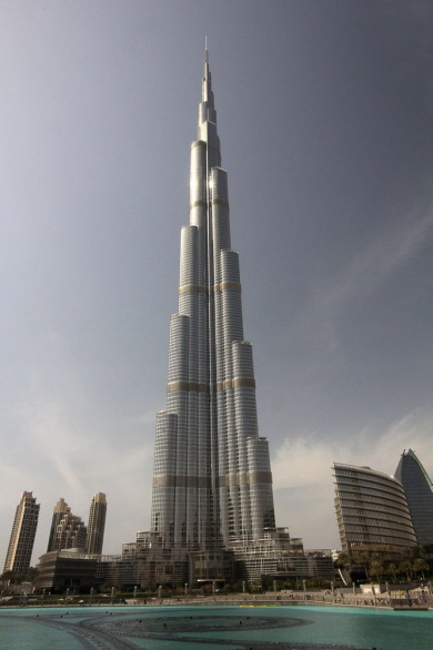 höhe burj khalifa